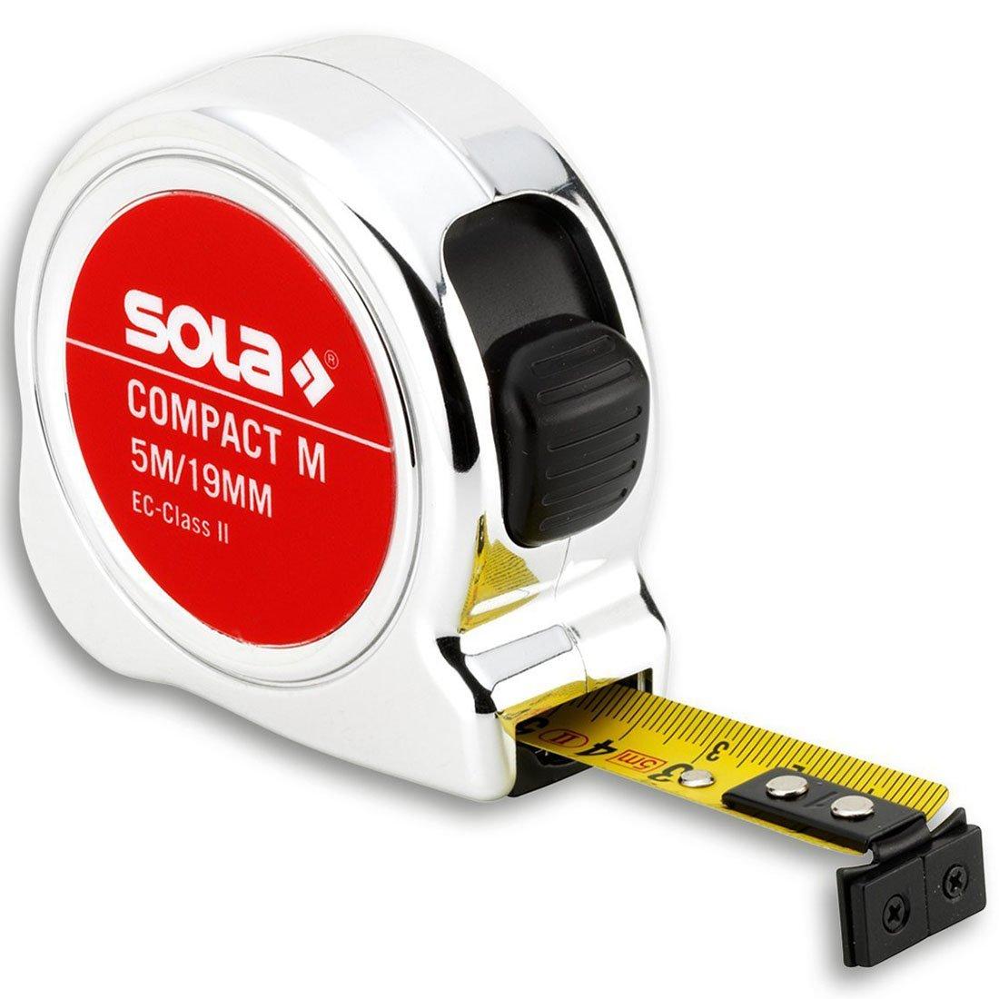 5m Grau Sola 50520501 Magnetrollbandma/ßCompact M CO 5