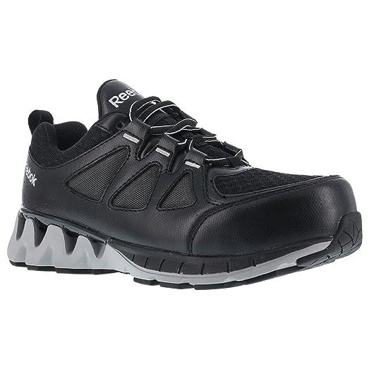 RB301 Reebok Women's ZIG Comp Toe Safety Shoes - Black/Grey - 11.5 - M