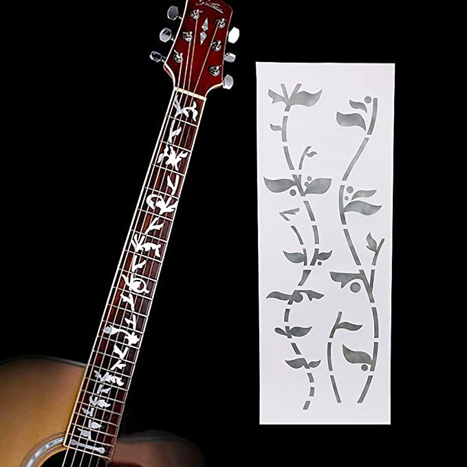 Bnineteenteam Fretboard Markers Inlay Sticker for Acoustic//Electric Guitar Fretboard Decor
