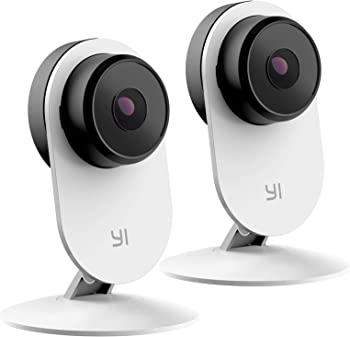 2-Pack YI Smart Home Camera 3 1080p Security Camera System