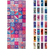 Soul Obsession Yoga Mat Microfiber Printed Design with Mandalas - Soul Expression