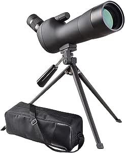 TRF Telescopio monocular, 20-60x60 telescopio monocular de