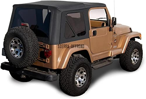 Jeep Wrangler TJ (1997-2006) Factory Style Soft Top with Tinted Windows [Sierra Offroad] Picture