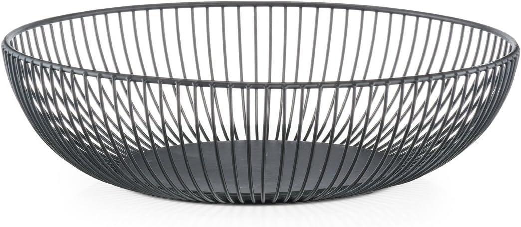 Negro Zeller Frutero Metal /Ø 25 x 14 cm ca