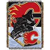 NHL Calgary Flames Acrylic Tapestry Throw Blanket