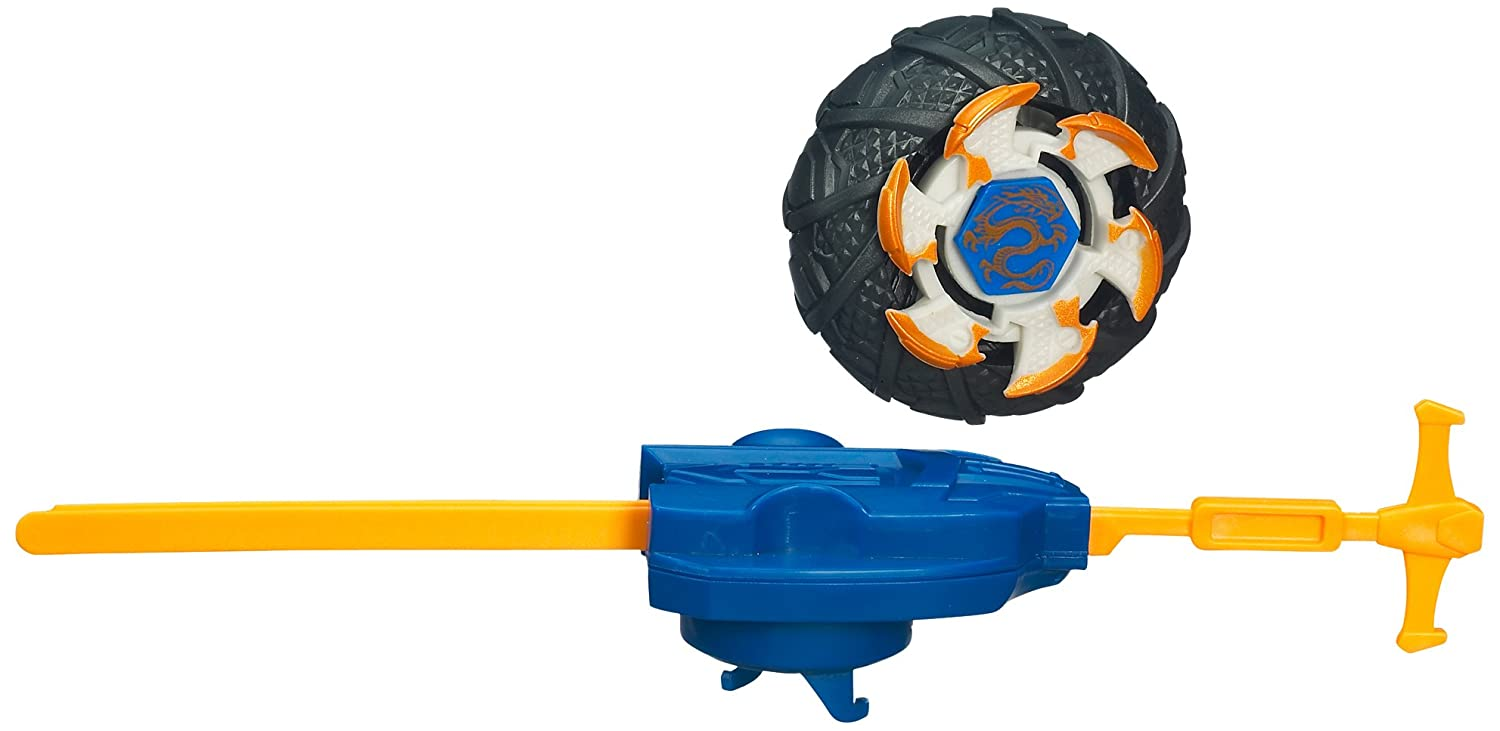 Beywheelz 37361 Doom Fire Drago powered by Beyblade - crash - stunt - race