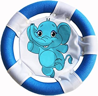 Egoelife frisbee anelli facile da afferrare per adulti bambini disco volante morbido e sicuro per sabbiera