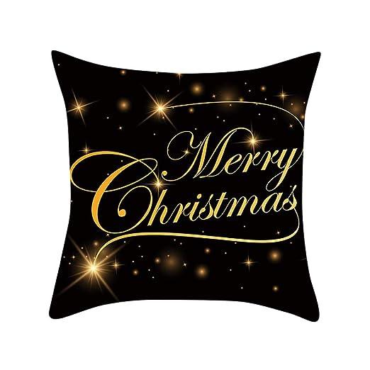 Goosun Fundas Cojín 45X45 Navidad Pillow Case Fundas De ...