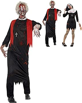 HALLOWEEN BLOODY DOCTOR ADULT Fancy Dress Costume Party Scary Surgeon Outfit UK