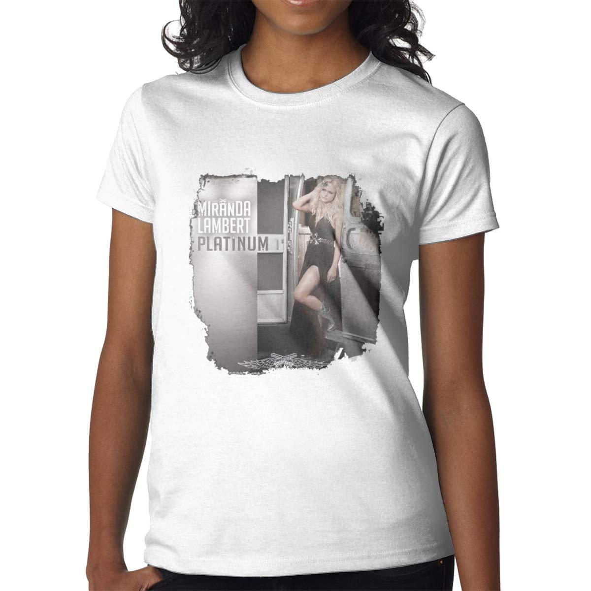 Miranda Lambert Platinum Simple Short Sleeve Black Shirts