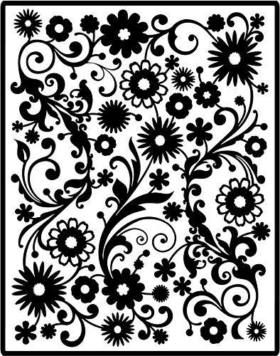 Spellbinders Impressabilities Template to Emboss/Deboss, Flowers