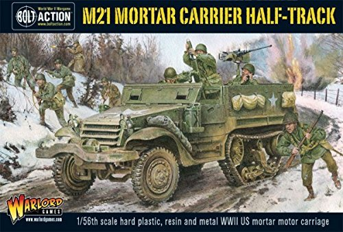 M21 Mortar Carrier Half-track, Bolt Action Track