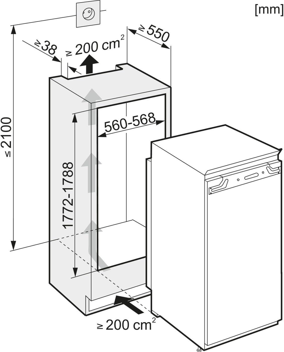 Miele FN 9752 i, 230-240 V, 50 Hz, A+, 325 kWh/year, 38 Db, Blanco ...