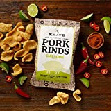 Krave Jerky Chili Lime Keto Pork Rinds, 6 Pack of