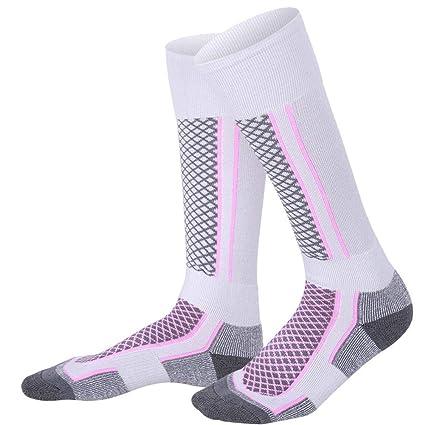 Calcetines largos de esquí,medias de los hombres del deporte al aire libre para el