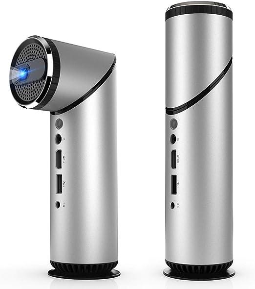 WXJZ Mini Proyector Portatil Full HD para Movil 4K 1080P ...