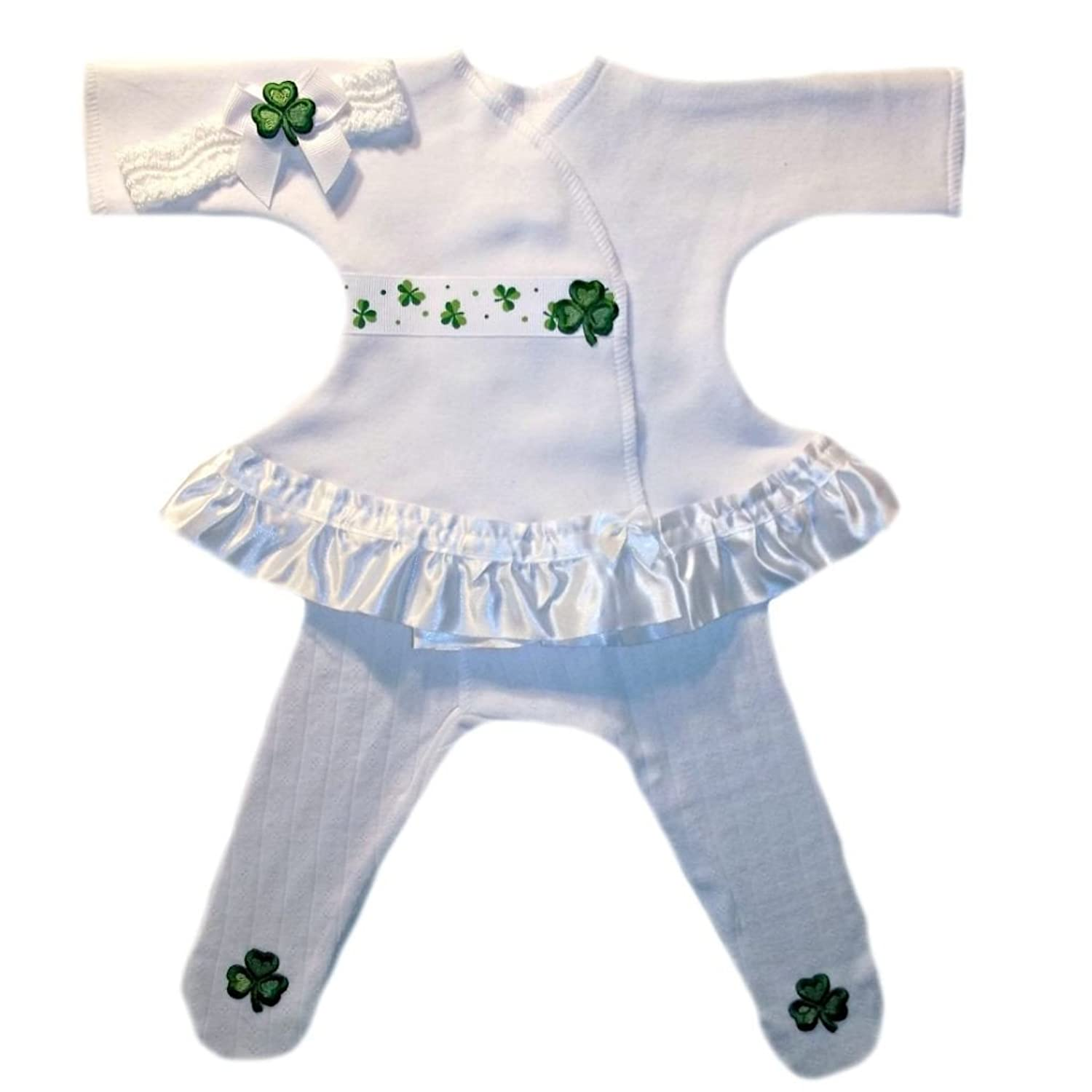 Amazon Jacqui s Baby Girls Luck of the Irish Sassy Dress Set