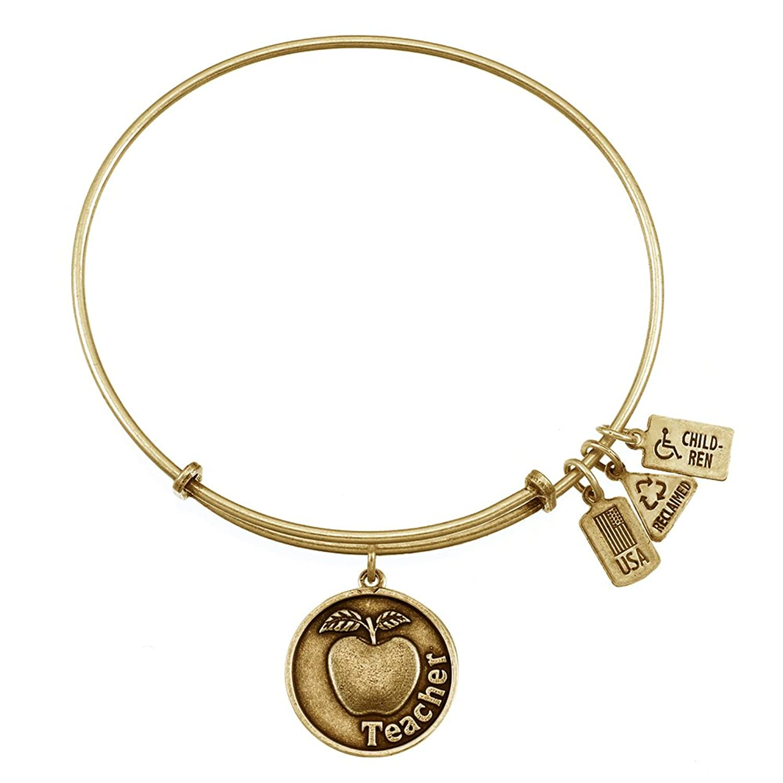 ani bracelets unwritten stainless and rose bracelet bangle alex pin quartz charm steel in infinity