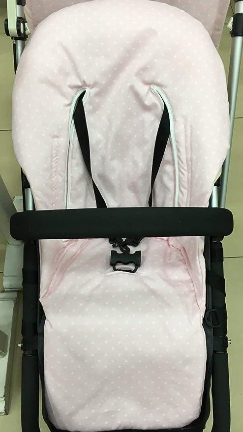 Funda silla para Bugaboo Camaleón 2 y 3 rosa bebe con estrellas ...