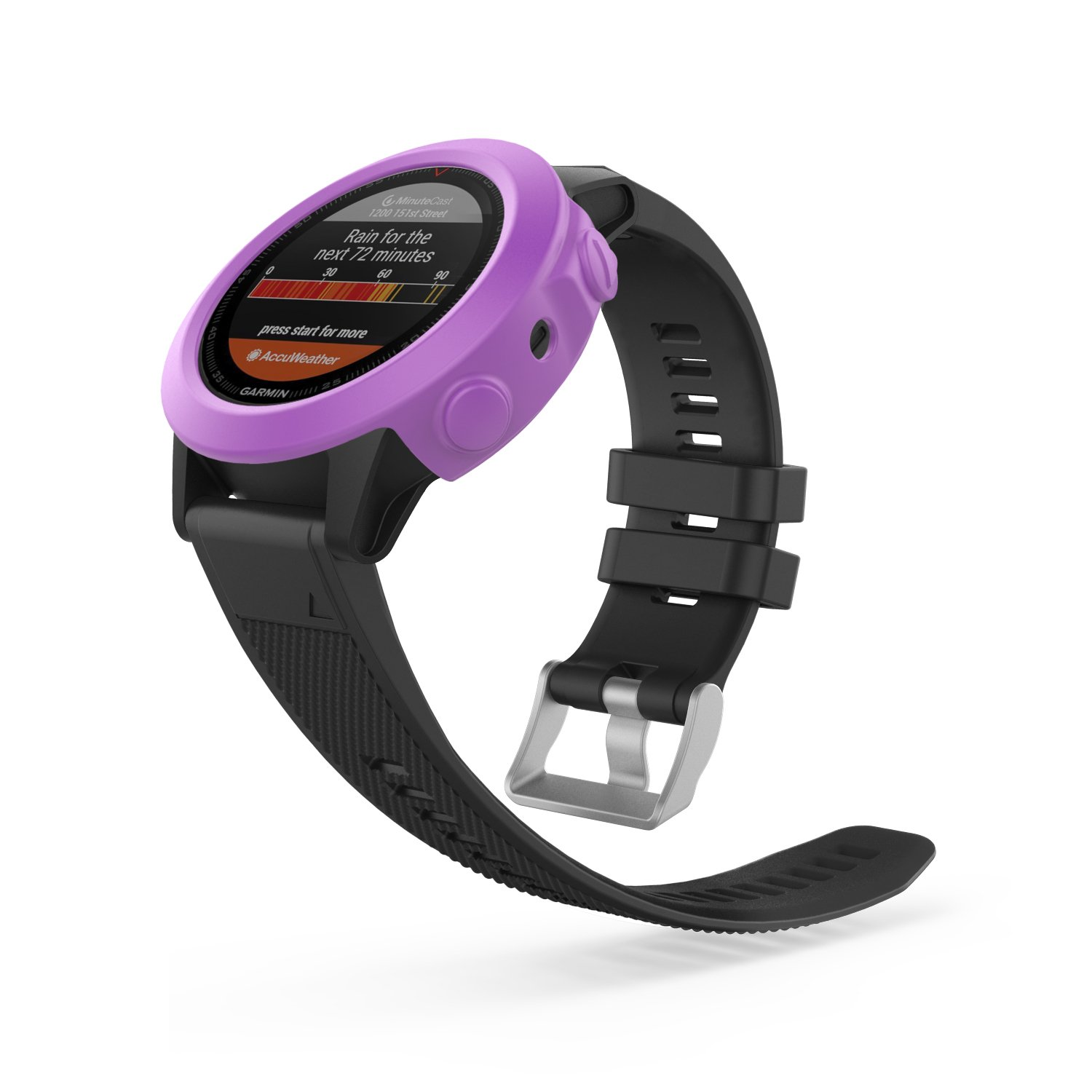 Amazon.com: MoKo Case for Garmin Fenix 5/5 Plus Watch, [6 PACK] Soft Silicone Full Body Protective Cover Shock-proof Case Protector Accessories for Garmin ...