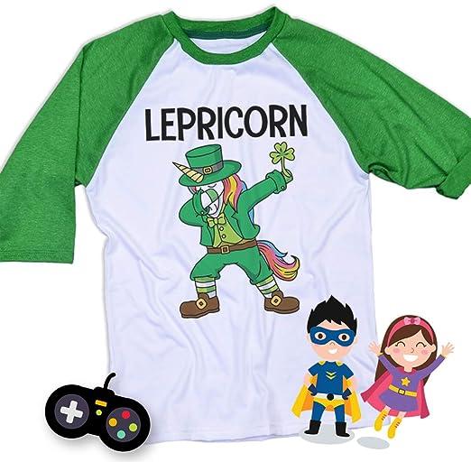 Dabbing UnicornFunny Top Tee Kids Boys Girls Children Graphic T-Shirt