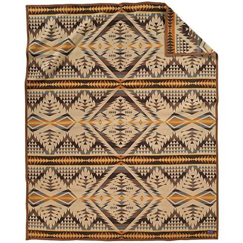 Pendleton Diamond Desert Blanket Queen - Colorado Directions Mills