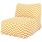 Majestic Home Goods Yellow Zig Zag Bean Bag Chair Lounger Review