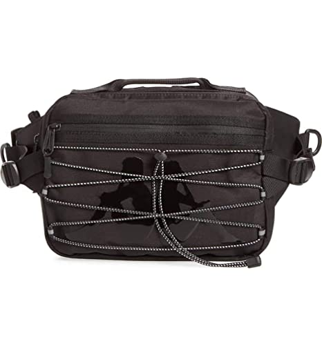 5664412cf6 Amazon.com | Kappa Bags The Premium Fannypack in Black and White OS ...