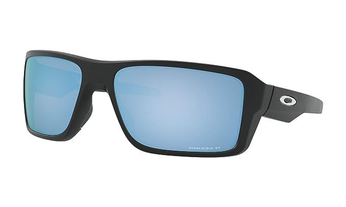 Amazon.com: Oakley Gafas de sol de doble borde negro mate ...