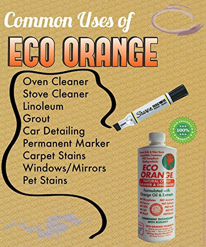Eco Orange 32-Ounce Concentrate - common uses