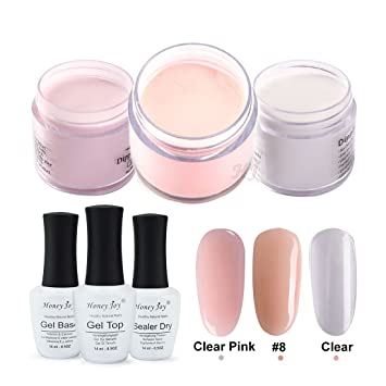 Amazon.com: 4 in 1 Tool Kits 28g/Box Nude Pink Dipping Powder ...