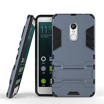 DWaybox Xiaomi Redmi Note 4X Hybrid Funda 2 in 1 Heavy Duty Armor Hard Back Carcasa Funda con kickstand para Xiaomi Redmi Note 4X/Xiaomi Redmi Note ...