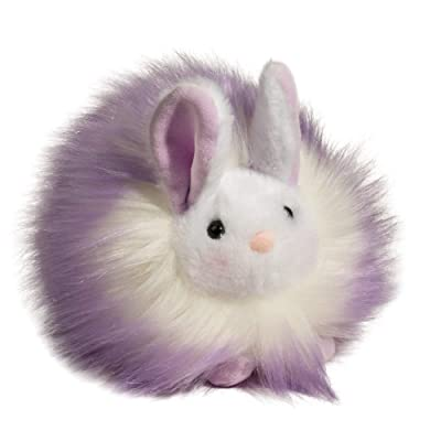 "Douglas Cuddle Light Purple Puff Bunny Plush Stuffed Animal, 6"": Toys & Games"