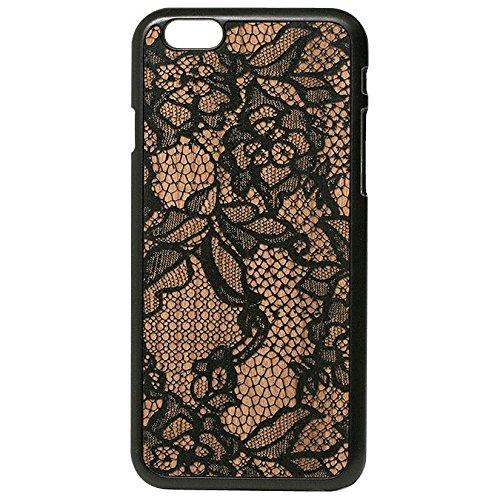 Lazerwood Lace Snap Hülle für Apple iPhone 6 schwarz