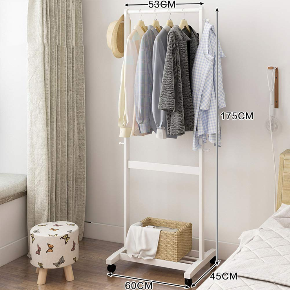 F 60x48x175cm(24x19x69inch) Bamboo Clothes Rack,Triangle Wooden Free Standing Coat Rack,Tree Stand Holder for entryway and Bed Room Patented Design-D 64x44x149cm(25x17x59inch)