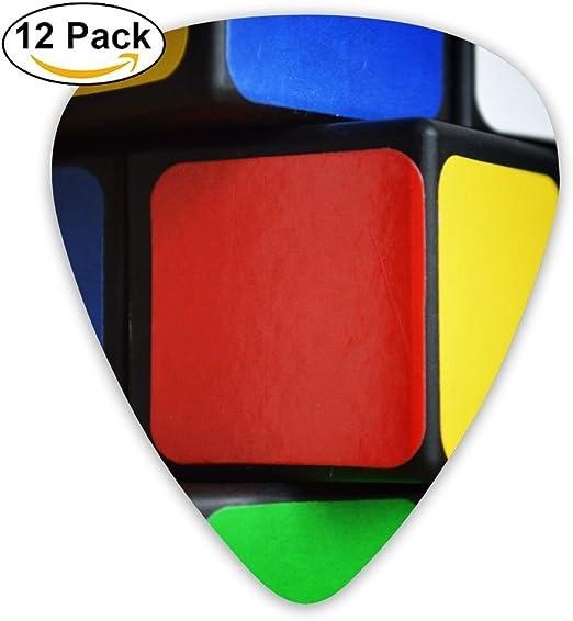 SEGTAR Rubik s Cube ç·t.jpg Púas de guitarra personalizadas ABS ...
