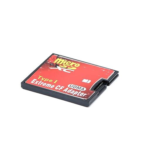 56 opinioni per QUMOX microSD Per CF Compact Flash Memory Card Adapter Lettore tipo 1 WIFI