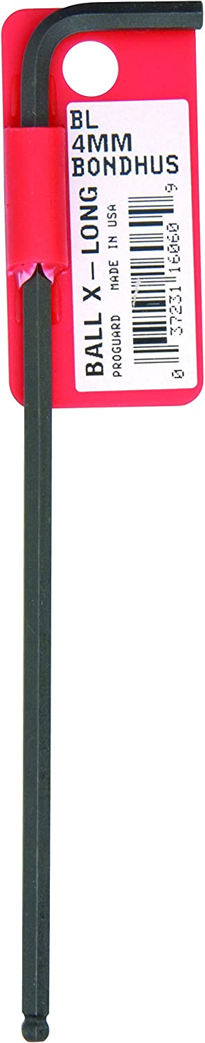Extra Long Arm Pack of 10 Bondhus 16056 3.0mm Ball End Tip Hex Key L-Wrench with ProGuard Finish