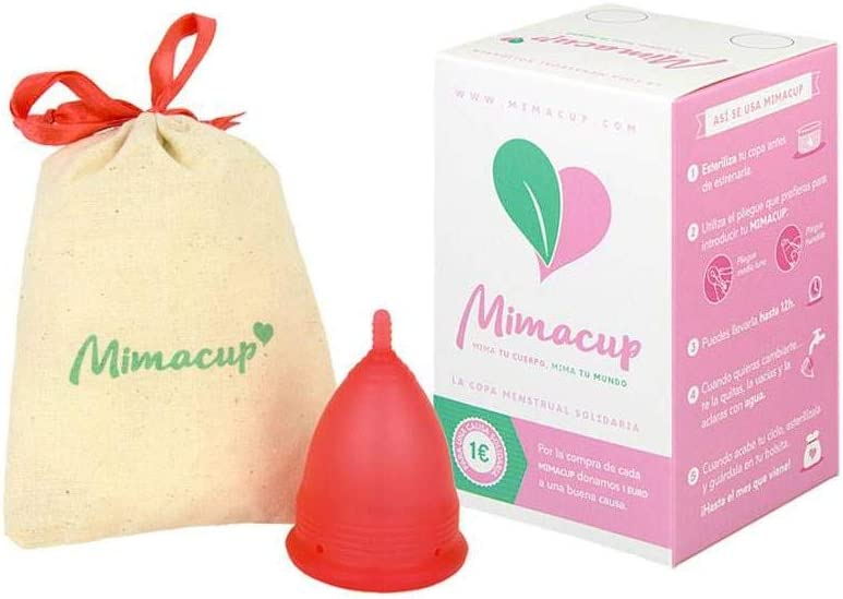 Mimacup - Copa menstrual Roja Talla S