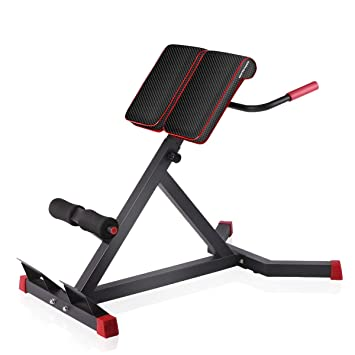 Pleasing Sportsroyals Adjustable Roman Chair Back Hyperextension Bench For Strengthening Abs And Lower Back Creativecarmelina Interior Chair Design Creativecarmelinacom