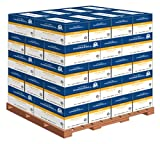 Hammermill Paper, Fore MP 20lb, 8.5'' x 11'', Letter, 96 Bright, 200,000 Sheets/40 - 10 Ream cases - 1 Pallet (103267P)