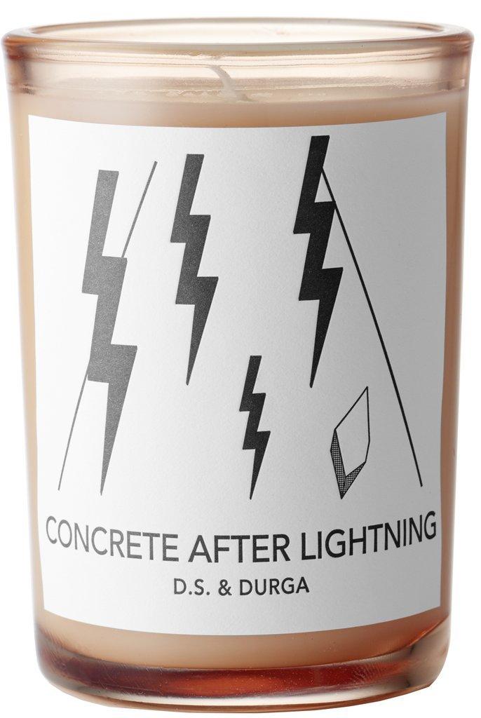 D.S. & Durga Concrete After Lightening Candle - 7 oz