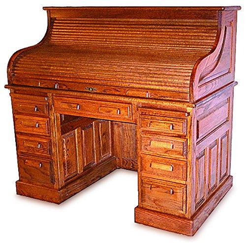 Top Desk Plan – American Furniture Design (Roll Top Desk Plan)