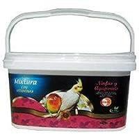 DAPAC Kiki Mélange Premium avec vitamines nymphes et inséparables Flacon 5,5L (4kg)