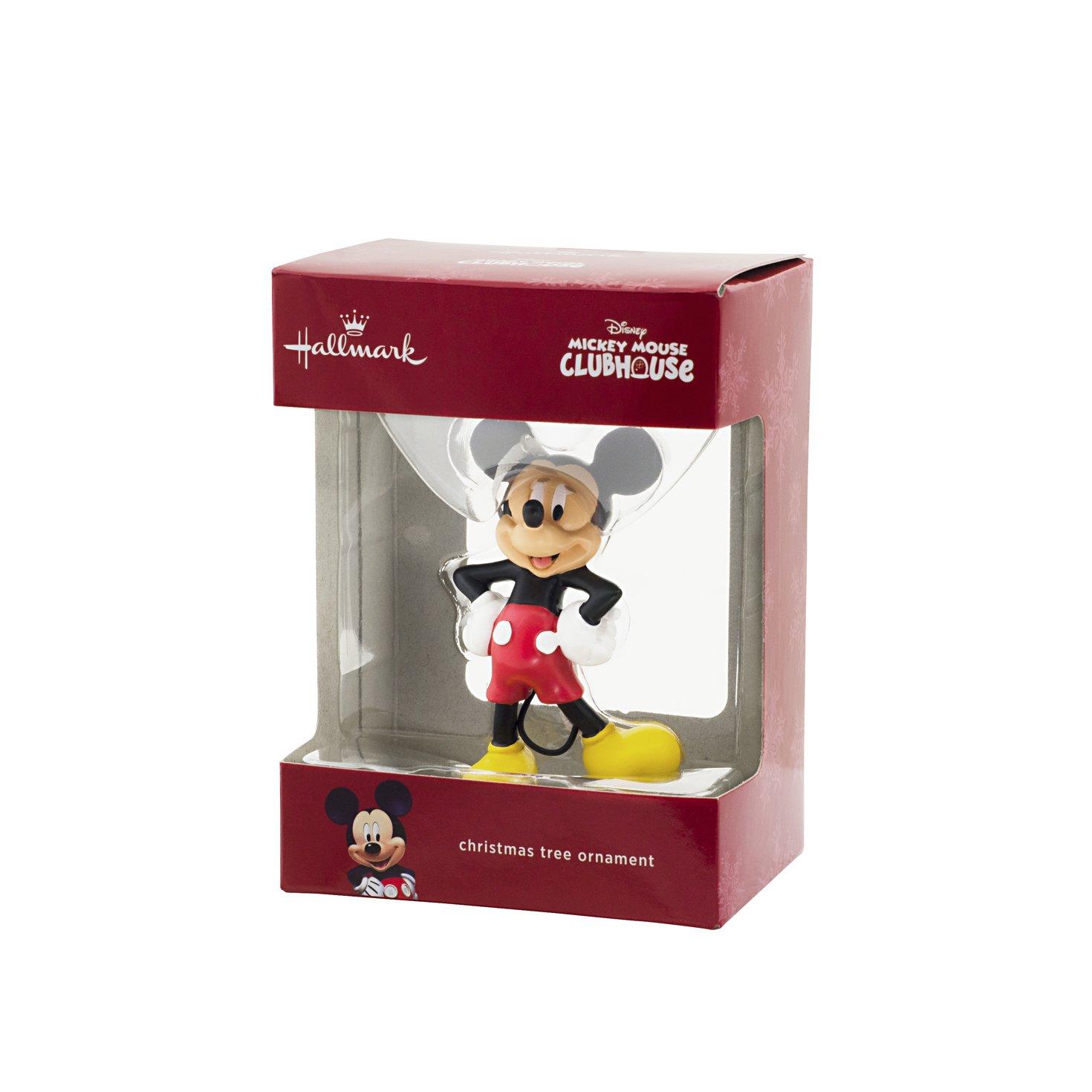 Amazoncom Hallmark Disney Mickeyminnie Christmas Ornament Home & Kitchen