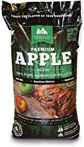 Green Mountain Grills Premium Apple 100% Pure Hardwood Grilling Cooking Pellets