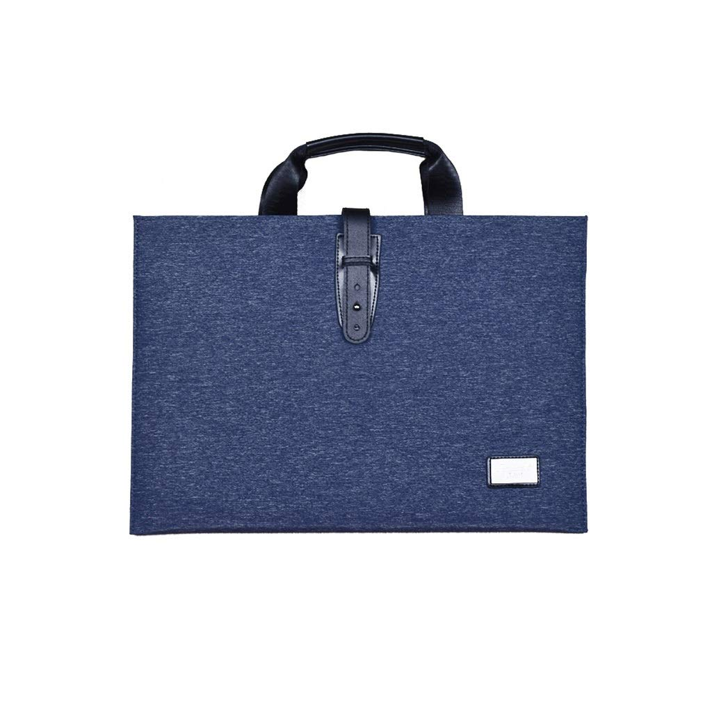 Portable Envelope Bag Multi-Layer File Bag Large-Capacity Multi-Function Bag 27.5x39.3CM (Color : A, Size : 27.5x39.3CM) by QSJY File Cabinets