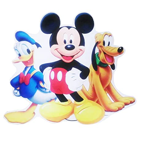 PARTY PROPZTM Mickey Mouse 2ft Cutout Birthday Decoration Amazonin Toys Games