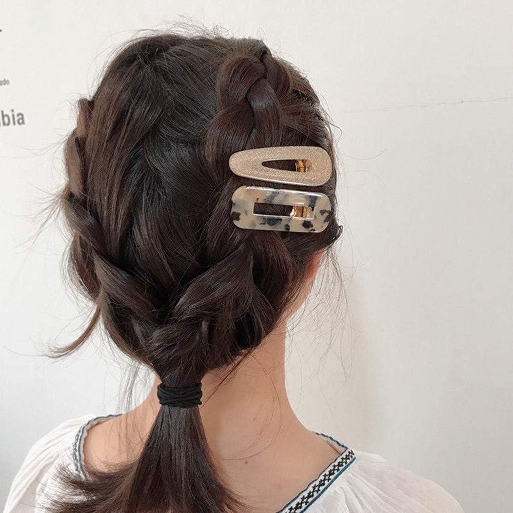 Hunpta@ 6Pcs Women Vintage Leopard Hair Clip Hairpins and Hair Accessories ,Pin Hairband Hairpin Barrette Comb Access B
