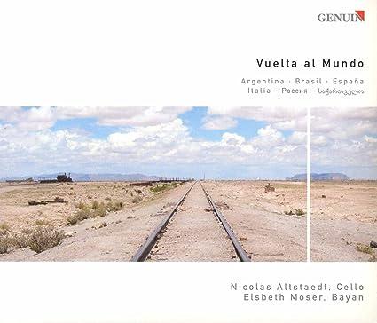 Vuelta Al Mundo : Astor Piazzolla, Nicolas Altstaedt: Amazon.es: Música
